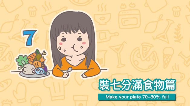 心理測驗 - 從吃Buffet的習慣測你的事業觀【大約七八分滿左右 Make your plate 70-80% full】
